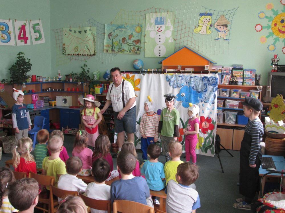 Velikonoční pohádka – divadélko ve školičce