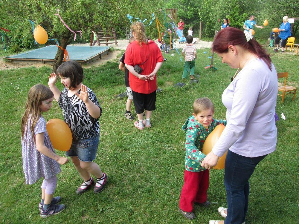 Zahradní slavnost v MŠ