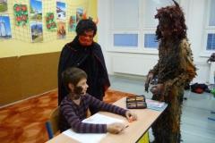 Mikuláš ve škole
