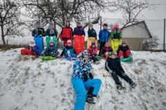 Řádění na sněhu