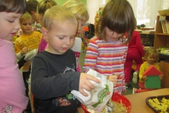 Zeleninové a bramborové dny v naší školičce